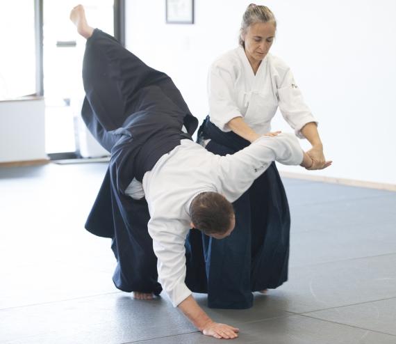 Aikido Ikkyo Omotte