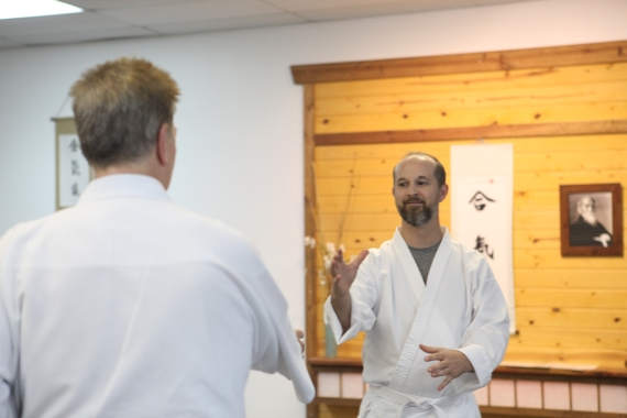 Aikido Students